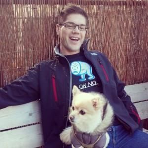 Ryan and Dog