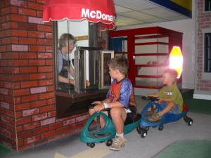 Kids at McDonalds